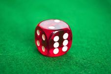 Free Red Dice Royalty Free Stock Images - 16805339