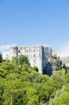 Alba La Romaine Castle Royalty Free Stock Photo