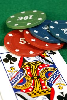 Free Queen Of Clubs Royalty Free Stock Image - 16806406