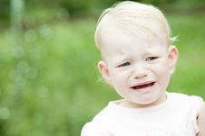 Free Crying Girl Royalty Free Stock Images - 16806459