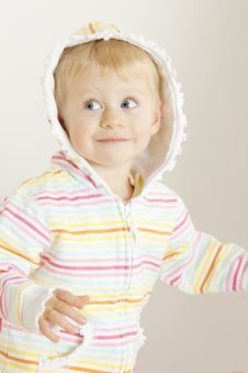 Free Portrait Of Toddler Royalty Free Stock Photography - 16806497