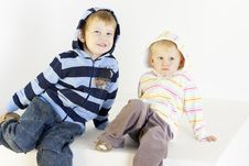 Free Brother With Sister Royalty Free Stock Photos - 16806508