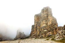 Free Dolomite Mountains. Stock Image - 16806601
