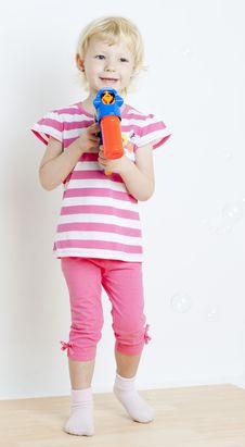 Free Little Girl Stock Photos - 16806653
