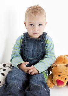 Sitting Toddler Stock Photos