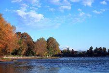 Free Blue Lake Park. Royalty Free Stock Photo - 16806955