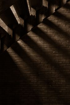 Free Shadow Of Stairway Royalty Free Stock Images - 16807049