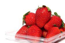 Korea Strawberry Royalty Free Stock Photos