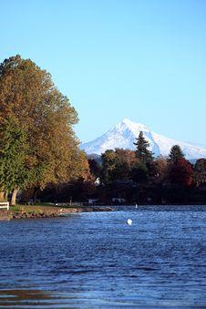Free Blue Lake Park. Stock Photography - 16807072