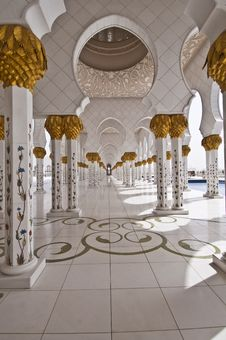 Free Mosque Inside The Building Royalty Free Stock Images - 16807079