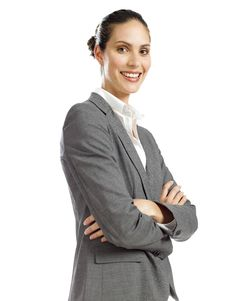 Free Young Confident Business Woman Royalty Free Stock Photography - 16807447