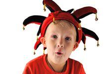 Free A Little Boy Joker Royalty Free Stock Photo - 16807745