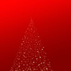 Magic Christmas Tree Stock Photos