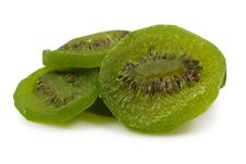 Free Dried Kiwi Fruit Slices Stock Photography - 16807932