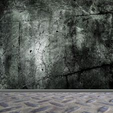 Free Empty Grunge Room Interior Stock Photos - 16808343