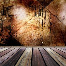Free Empty Grunge Room Interior Stock Photos - 16808353
