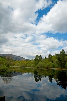 Free Clouds Over The Loch Royalty Free Stock Image - 16808826