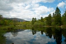 Free Stillness Of The Loch Royalty Free Stock Image - 16808836