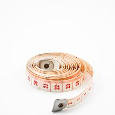 Free Measuring Tape Royalty Free Stock Photo - 16809125