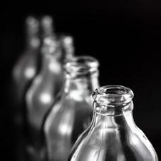 Free Empty Bottles Royalty Free Stock Photography - 16809147