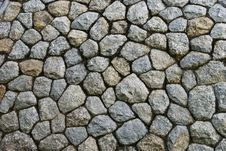 Free Background Of Stone Wall Stock Photography - 16809372