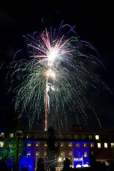 Free Fireworks Royalty Free Stock Image - 16809566
