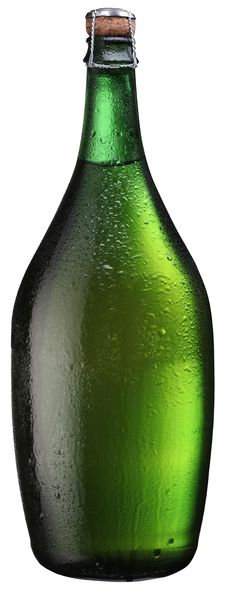 Sparkling Wine Bottle. Stock Image