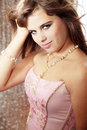 Free Girl In  Pearls Stock Photography - 16815062