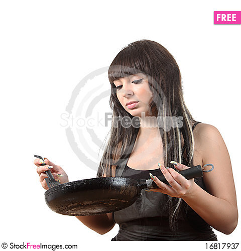 Free Women Cooking Royalty Free Stock Photography - 16817937