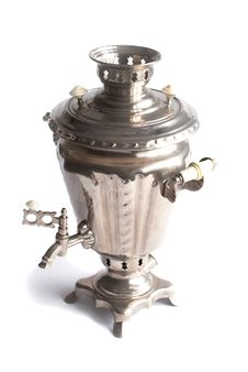 Russian Samovar Stock Images
