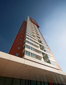 Free Modern Rotterdam, Skyscraper Stock Photo - 16811130