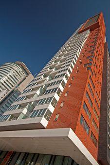 Free Modern Rotterdam, Skyscraper Stock Image - 16811151