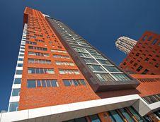 Free Modern Rotterdam, Skyscraper Royalty Free Stock Photo - 16811165
