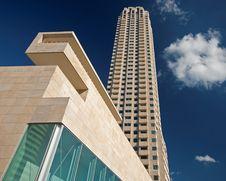 Free Modern Rotterdam, Skyscraper Royalty Free Stock Image - 16811216