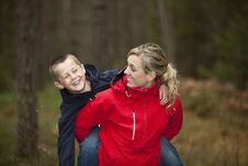 Free Mother And Son Stock Photos - 16811383