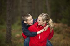 Free Mother And Son Stock Photo - 16811390