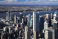 Free The New York City Panorama Royalty Free Stock Image - 16811426