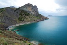 Free The Crimean Seascape With Cape Stock Photo - 16813070