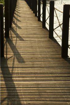 Free Wooden Bridge Stock Images - 16813154