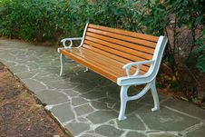 Free Bench In Park Stock Photos - 16813563