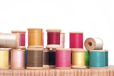 Free Spools Of Thread Stock Image - 16814491