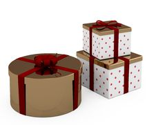 Free Christmas Gift Boxes Stock Images - 16814504