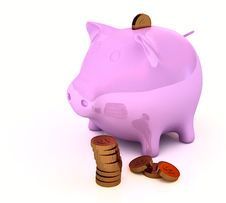 Free Piggy Bank Stock Photography - 16814522