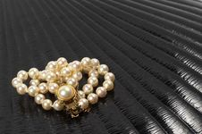 Free Pearl Necklace Stock Image - 16814851