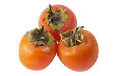 Free Three Persimmons Stock Image - 16814861
