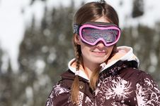 Free Young Skier Smiling Stock Image - 16815271