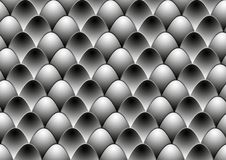 Free Black White Eggs Royalty Free Stock Image - 16815796