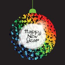 Free New Year Background Royalty Free Stock Image - 16816756