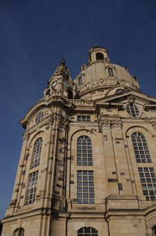 Free Woman´s Church Dresden Stock Image - 16817331