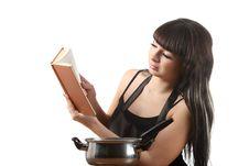 Free Women Cooking Stock Photo - 16817930